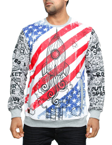 Imperious ?Lift Off? Sweatshirt CS554 White