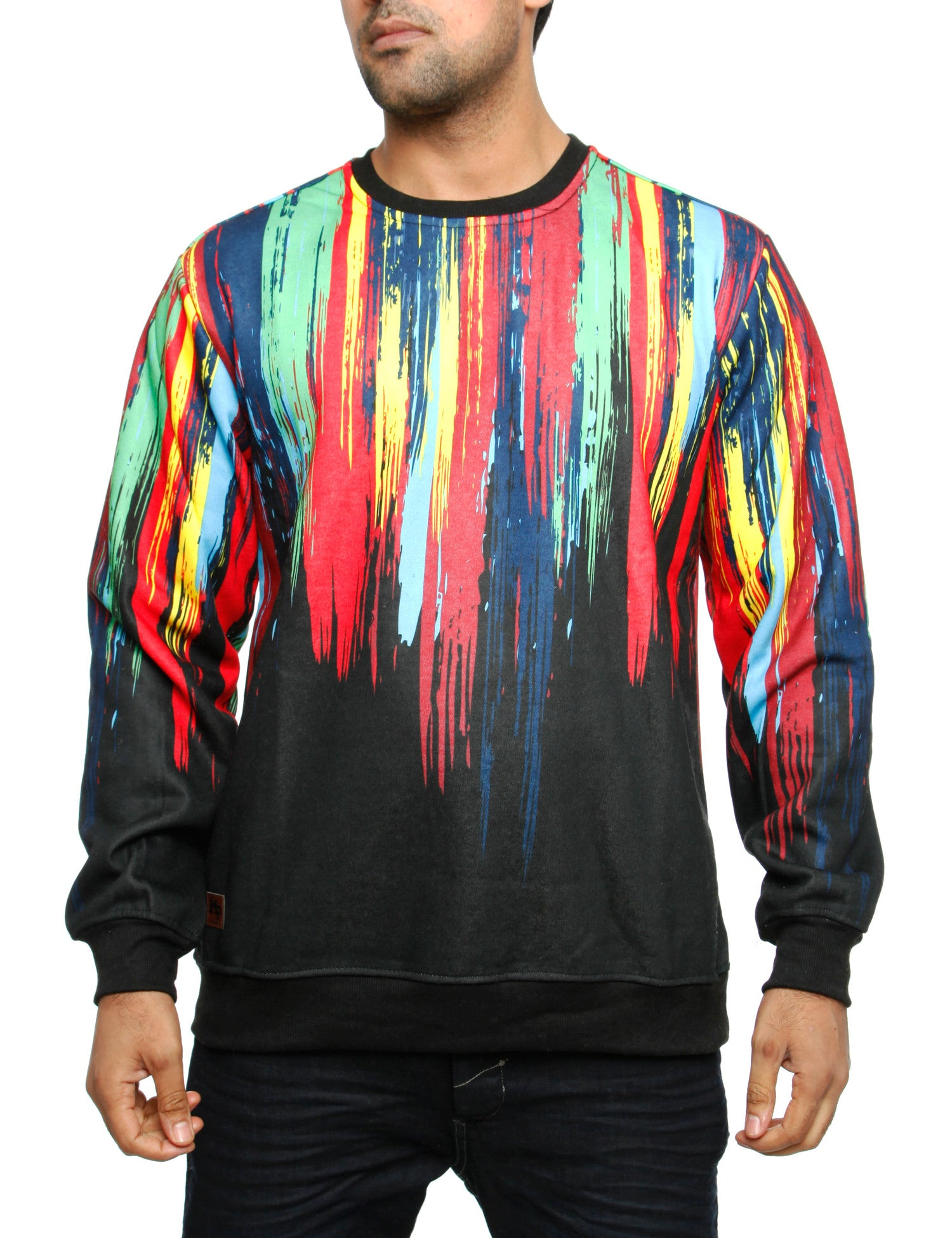 Imperious ?Brush? Sweatshirt CS555 Black
