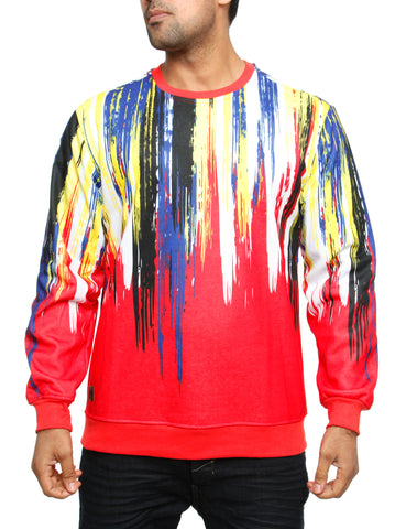 Imperious ?Brush? Sweatshirt CS555 Red