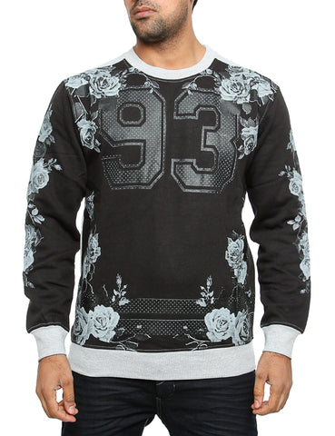Imperious ?93? No. & Rose Sweatshirt CS82 Black