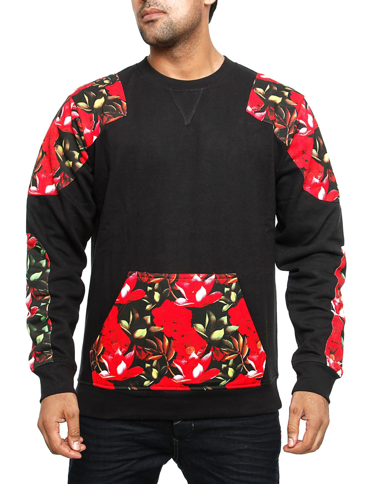 Imperious ?Tropics? Sweatshirt CS87 Black