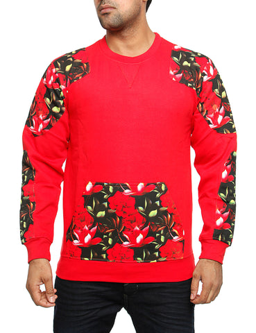 Imperious ?Tropics? Sweatshirt CS87 Red