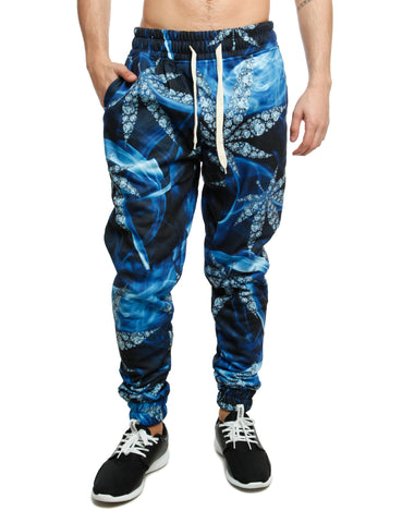 Imperious ?Diamond Leaf? Sweatpant FP522  Blue