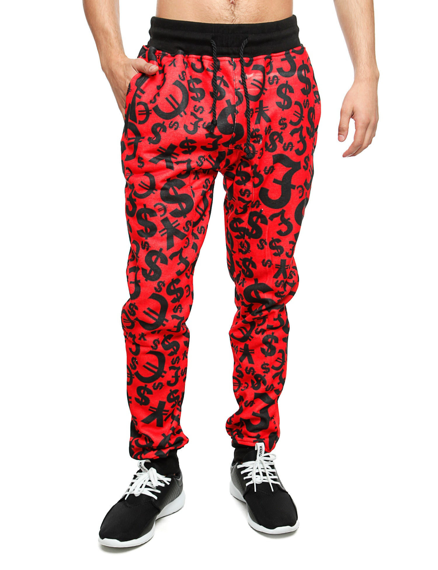 Imperious Money Tree Sweatpant FP534 Red