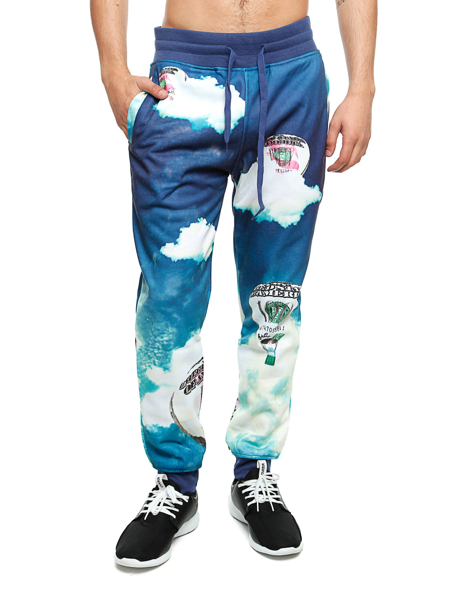 Imperious Money Bloom Sweatpant FP539 Blue