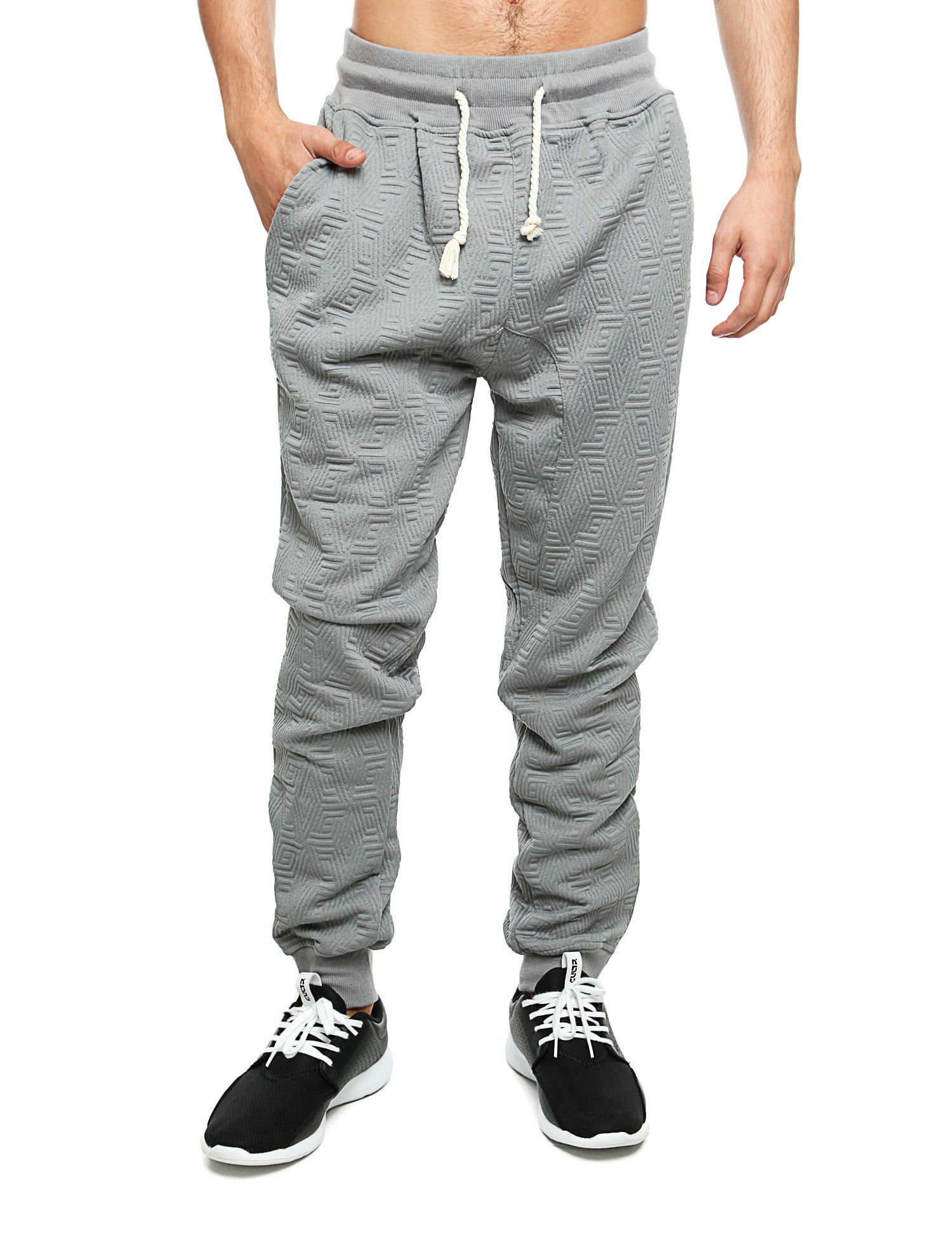 Imperious ´Quilted´ Sweatpant FP542 Grey