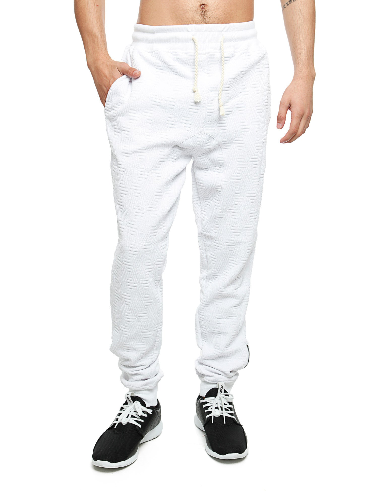 Imperious ´Quilted´ Sweatpant FP542 White