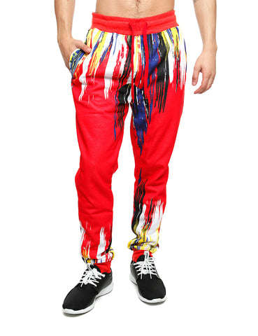 Imperious Brush Fleece Sweatpant FP555 Red