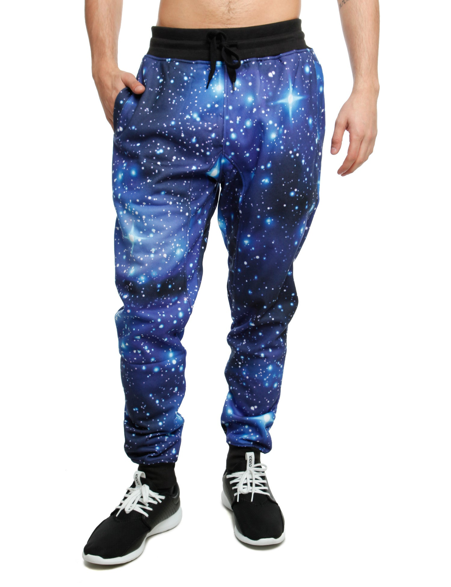 Imperious Galaxy All Over Sweatpant FP563 Black