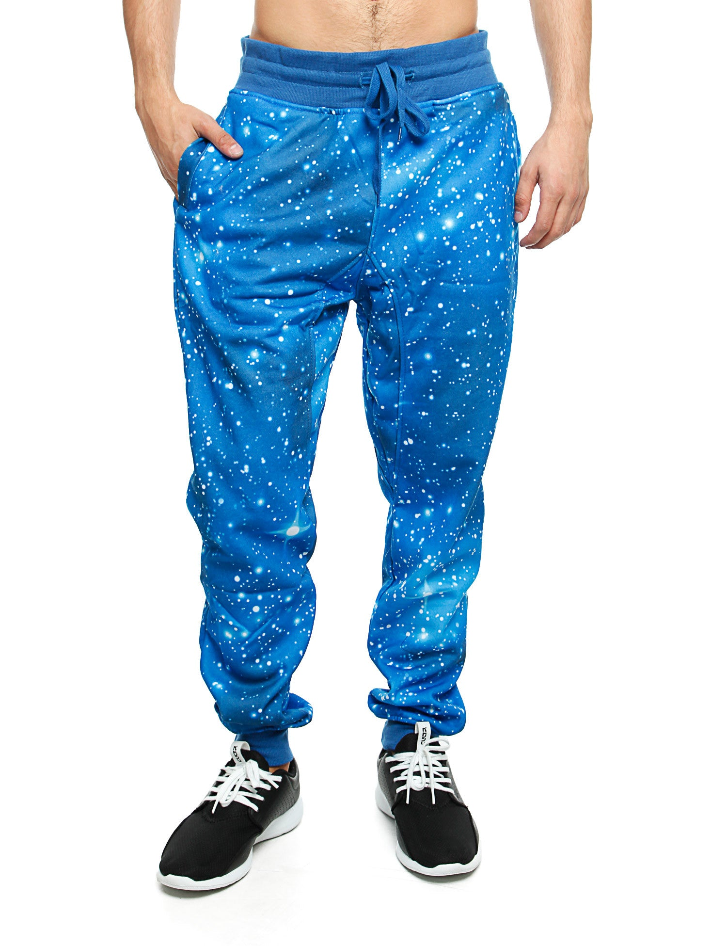 Imperious Galaxy All Over Sweatpant FP563 Blue