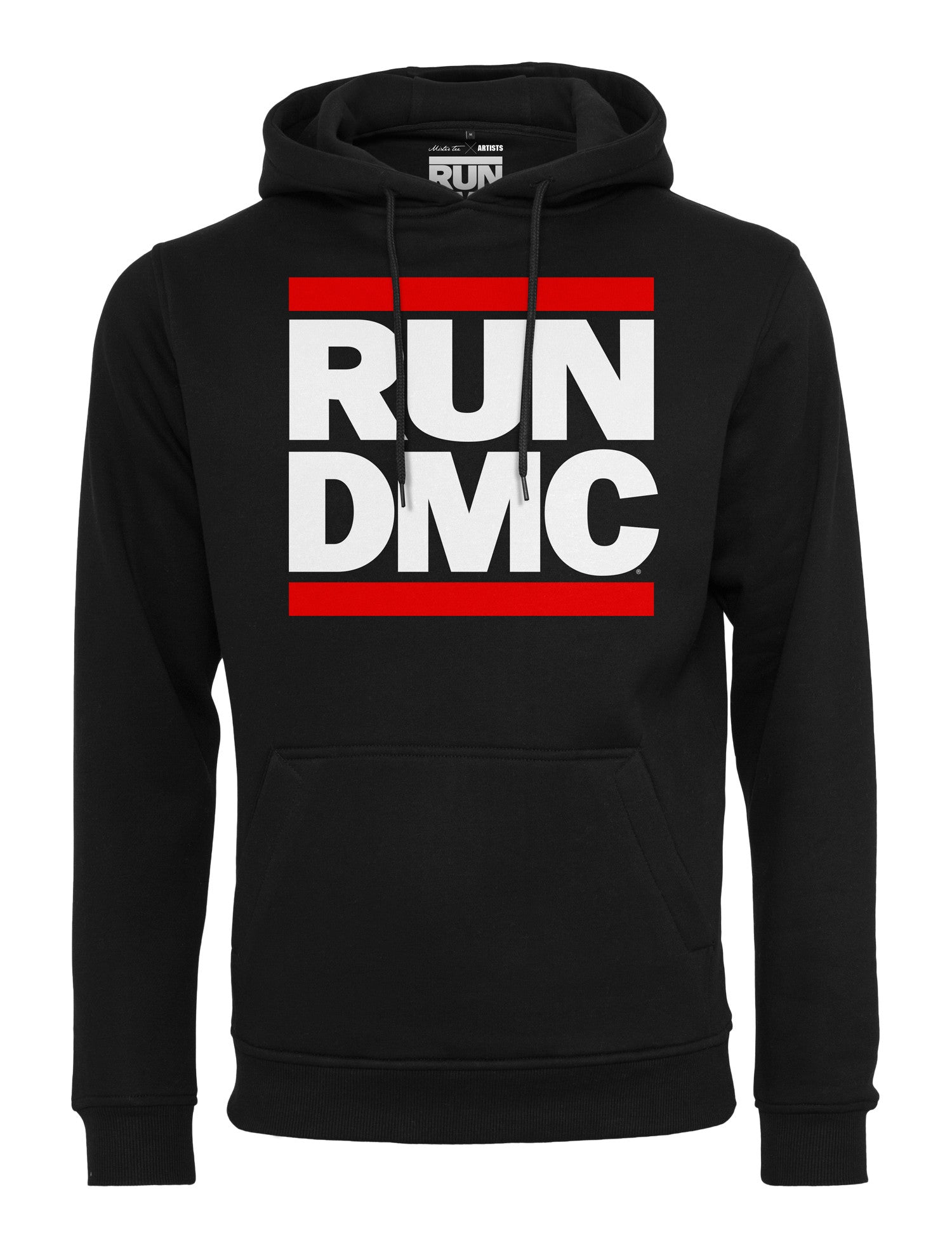 Run DMC Logo Hoody MT274 Black