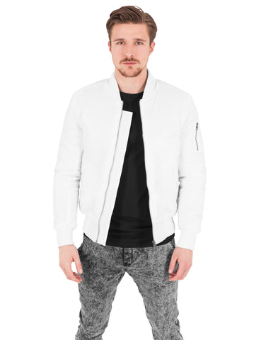 Basic Bomber Jacket TB861 White