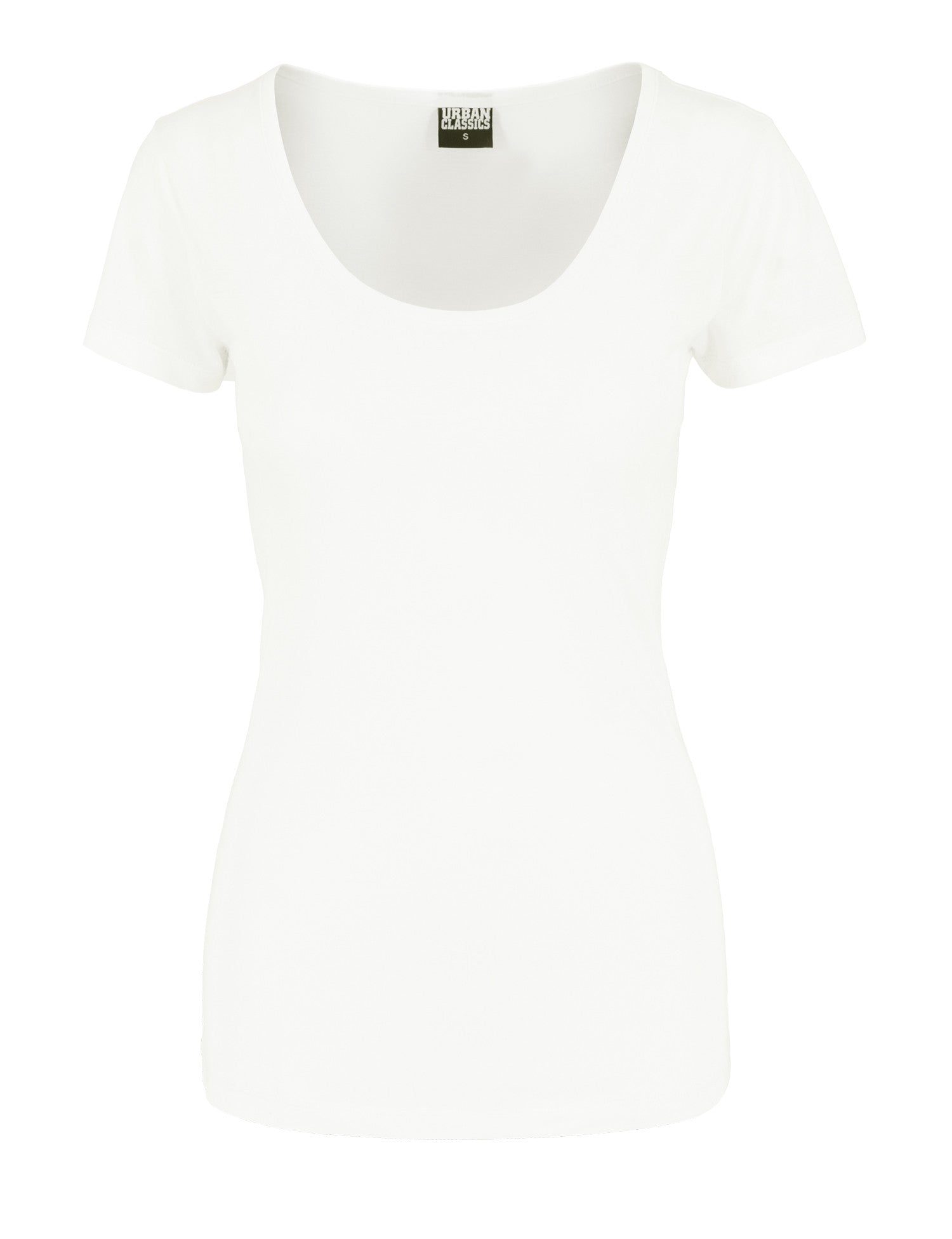 Ladies Basic Viscon Tee TB1037 White