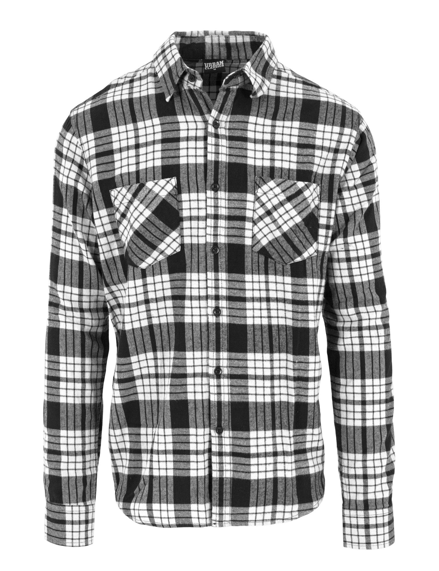 Checked Flanell Shirt 2 TB1140 White