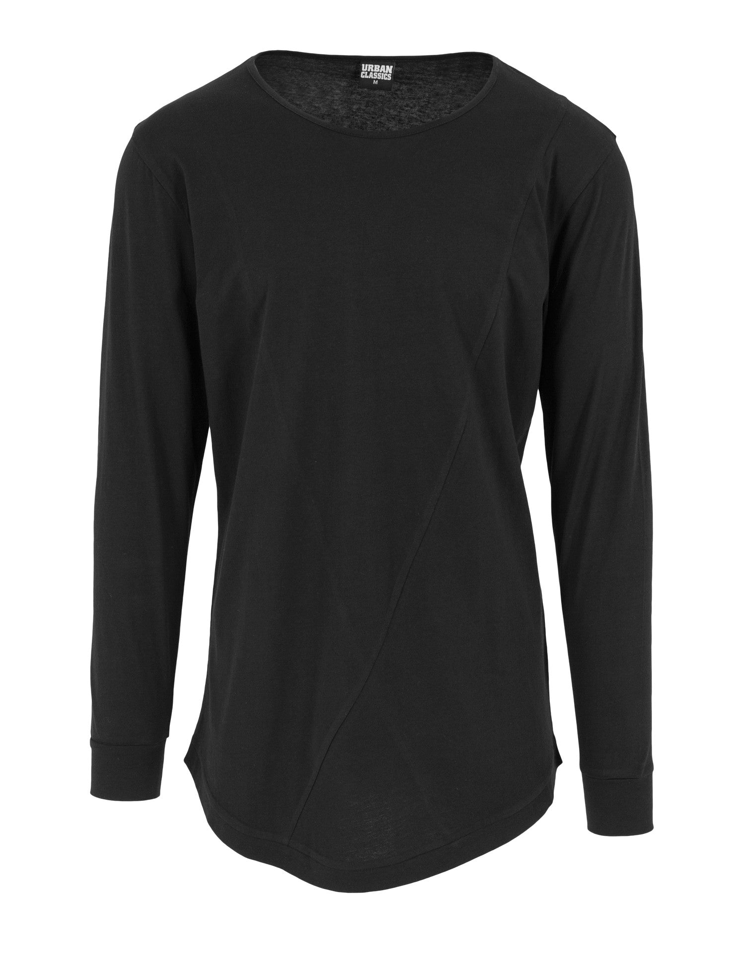 Long Shaped Fashion L/S Tee TB1101 Black