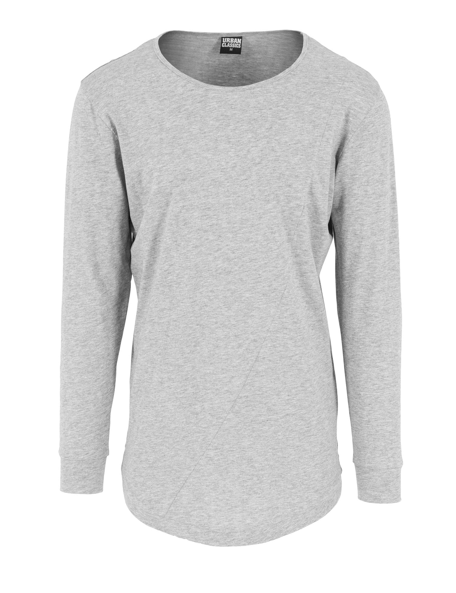 Long Shaped Fashion L/S Tee TB1101 Grey