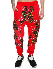 Imperious ´Tropics´ Sweatpant FP30 Red