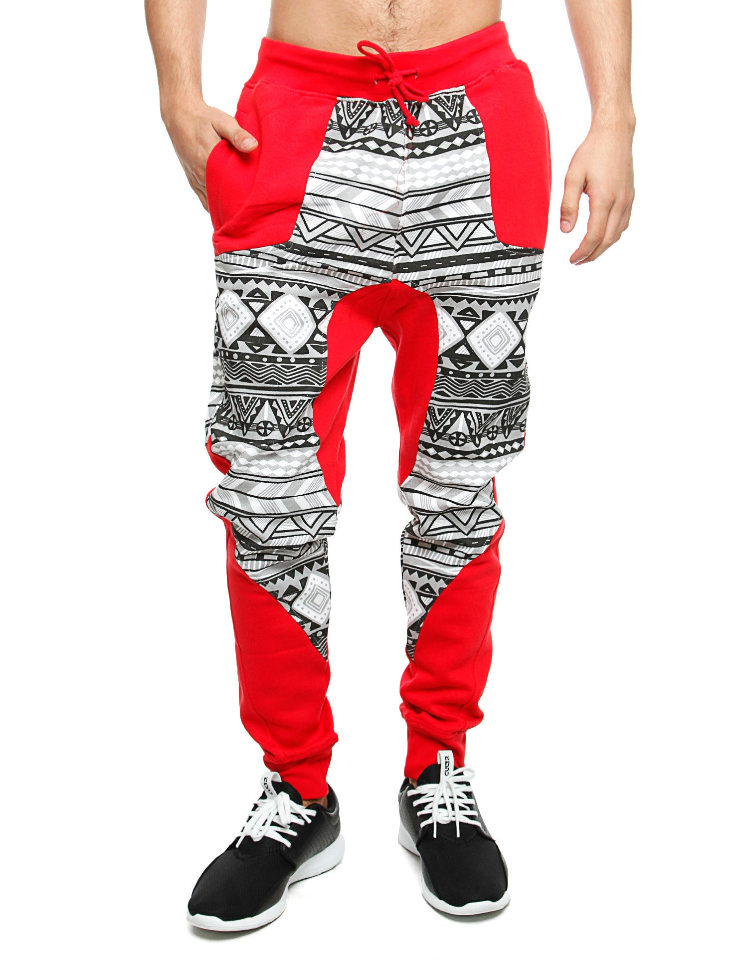 Imperious ´Aztec´ Sweatpant FP29 Red