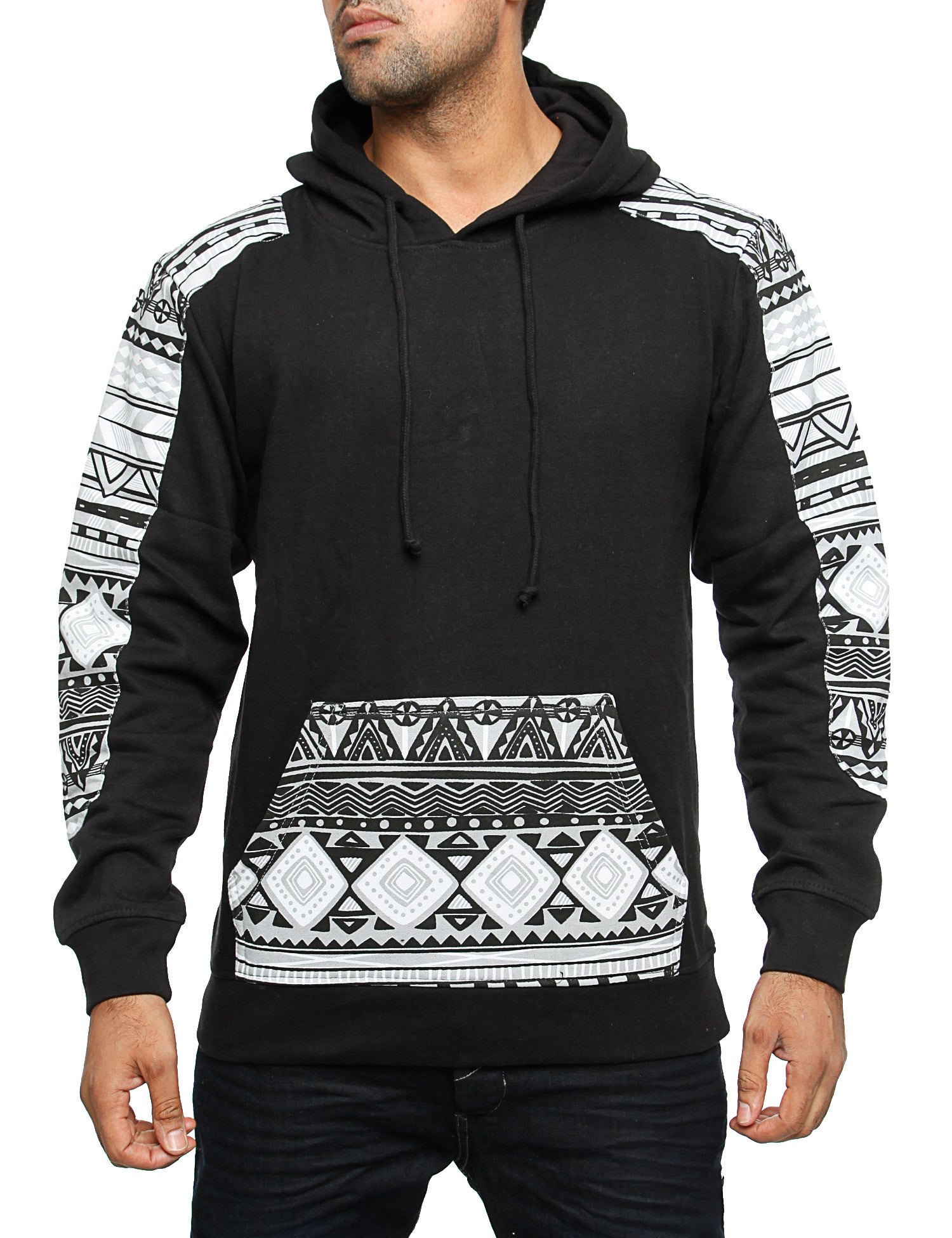 Imperious ´Aztec´ Hoody HS29 Black