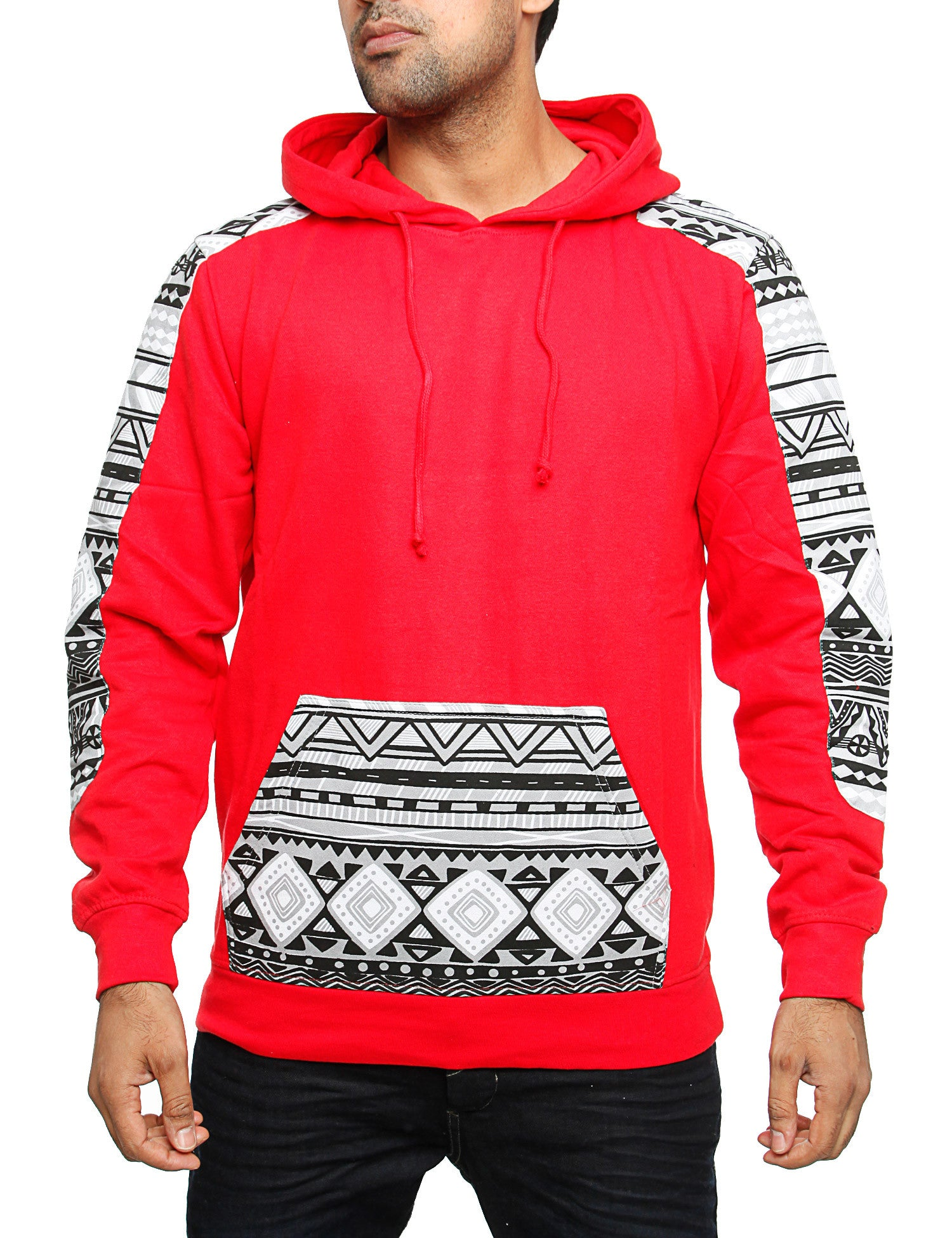 Imperious ´Aztec´ Hoody HS29 Red