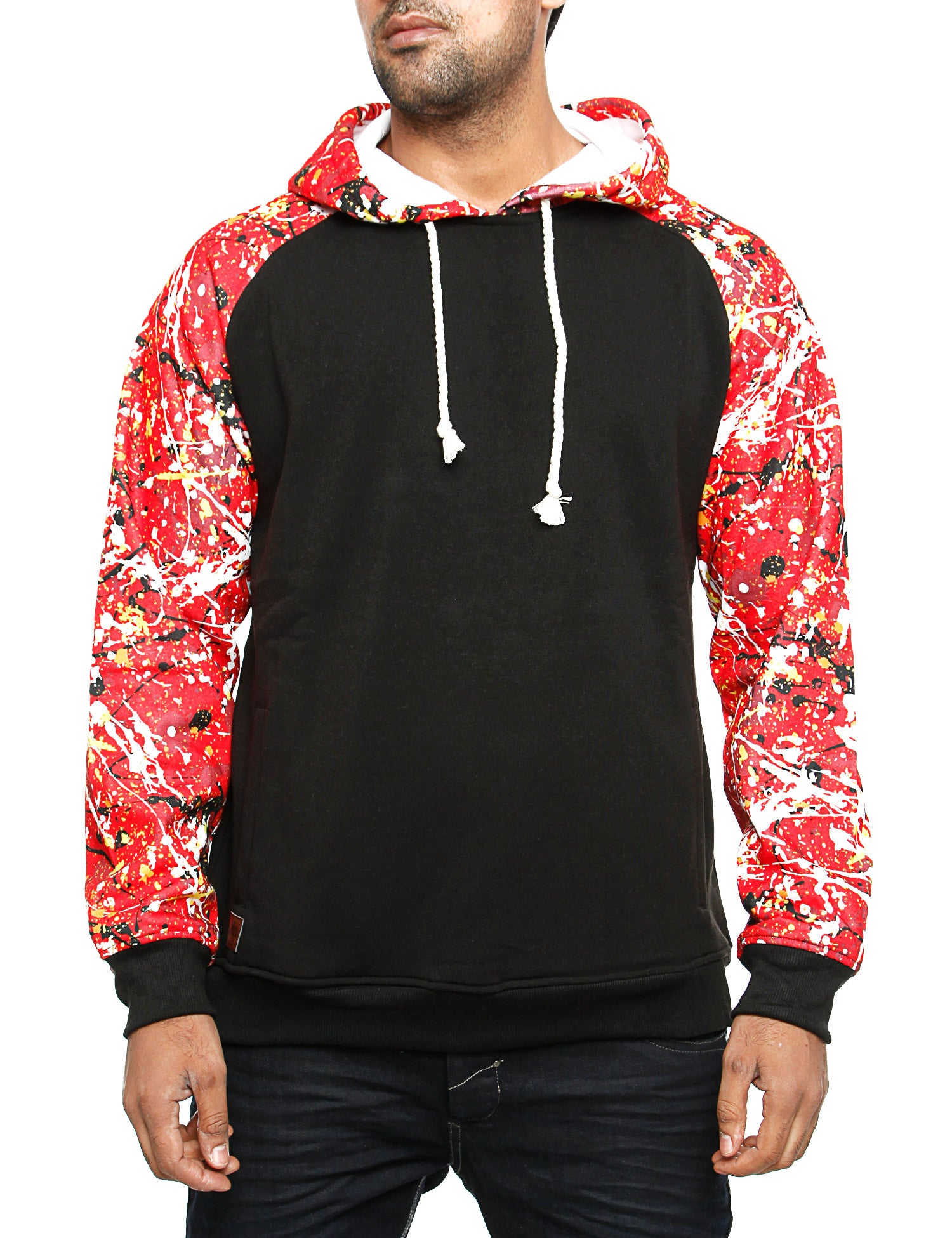 Imperious Raglan Hoody HS548 Black