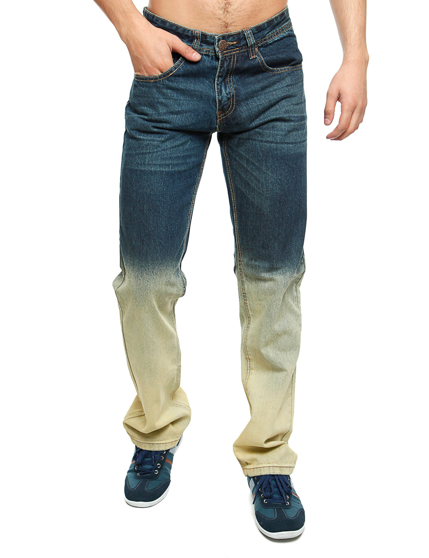 Imperious Denim Jeans DP526 Vintage  Green