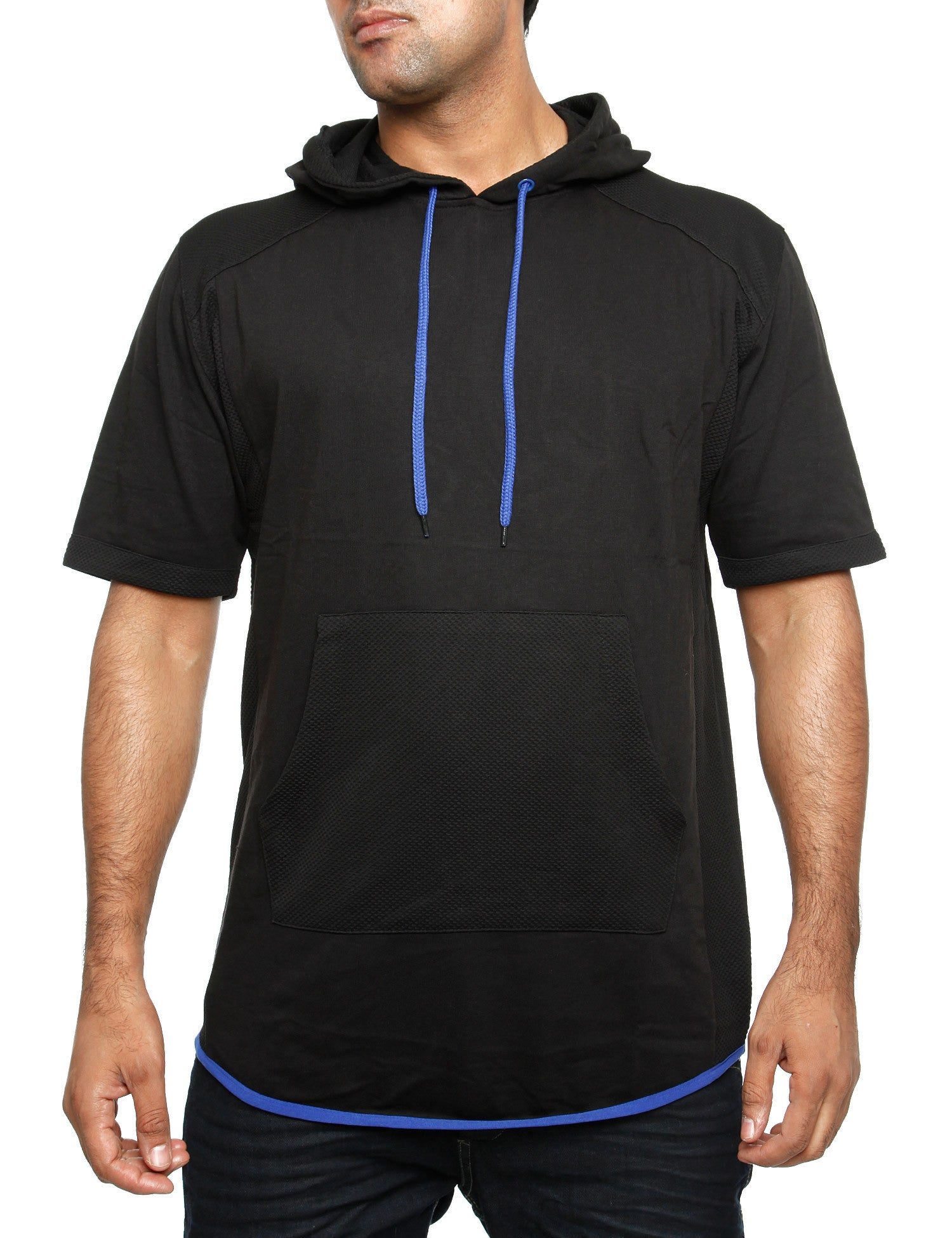 Royal Blue Hoody 24014H Black