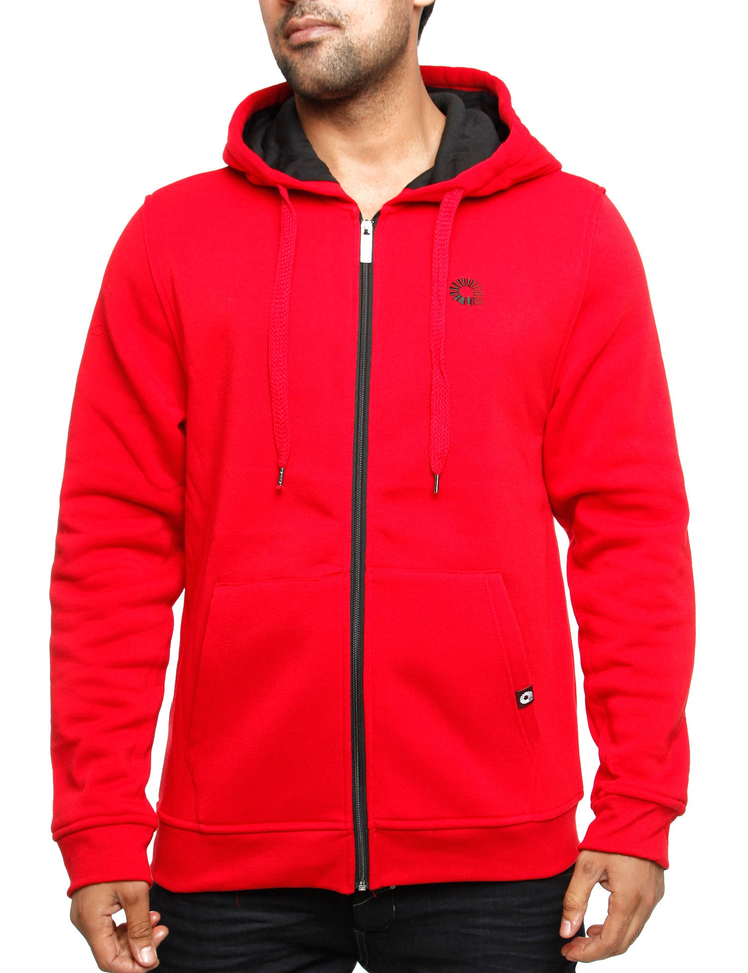Akademiks THE HOOD Zip Hoody A35HD12 H. Red