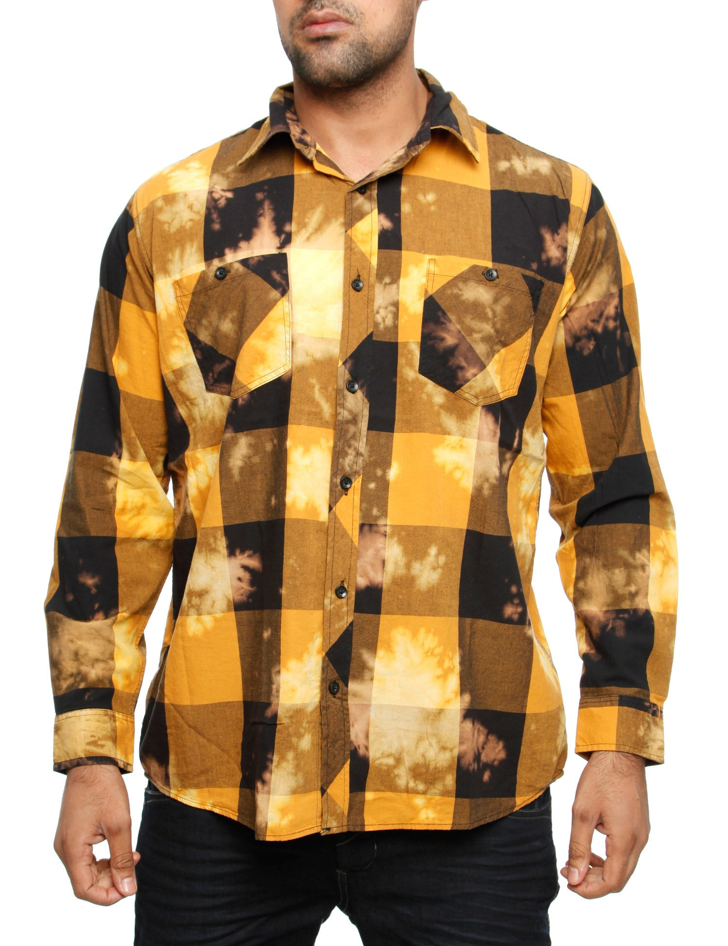 Akademiks VIKING Shirt A35LW19 Wheat Brown