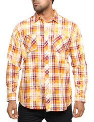 Akademiks CLIPPER Shirt A35LW21 Wheat Brown