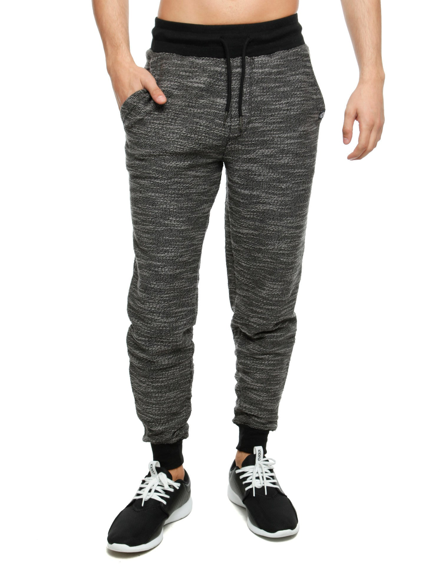 Akademiks COMMANCO Sweatpants A35KB03 Black