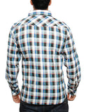 Imperious Plaid Woven Shirt WS04 Black