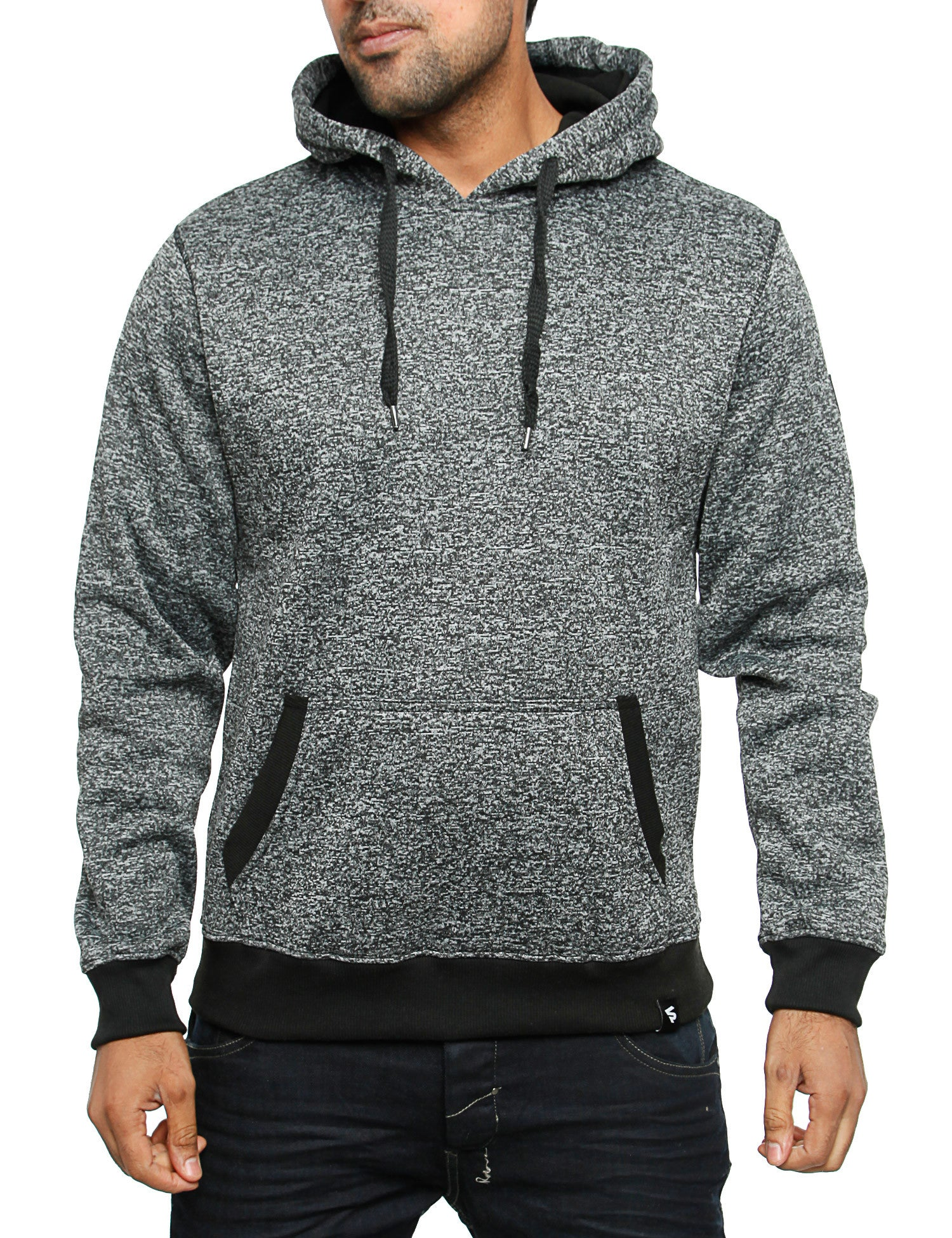 Southpole Hoody 15321-1526 Marled Black