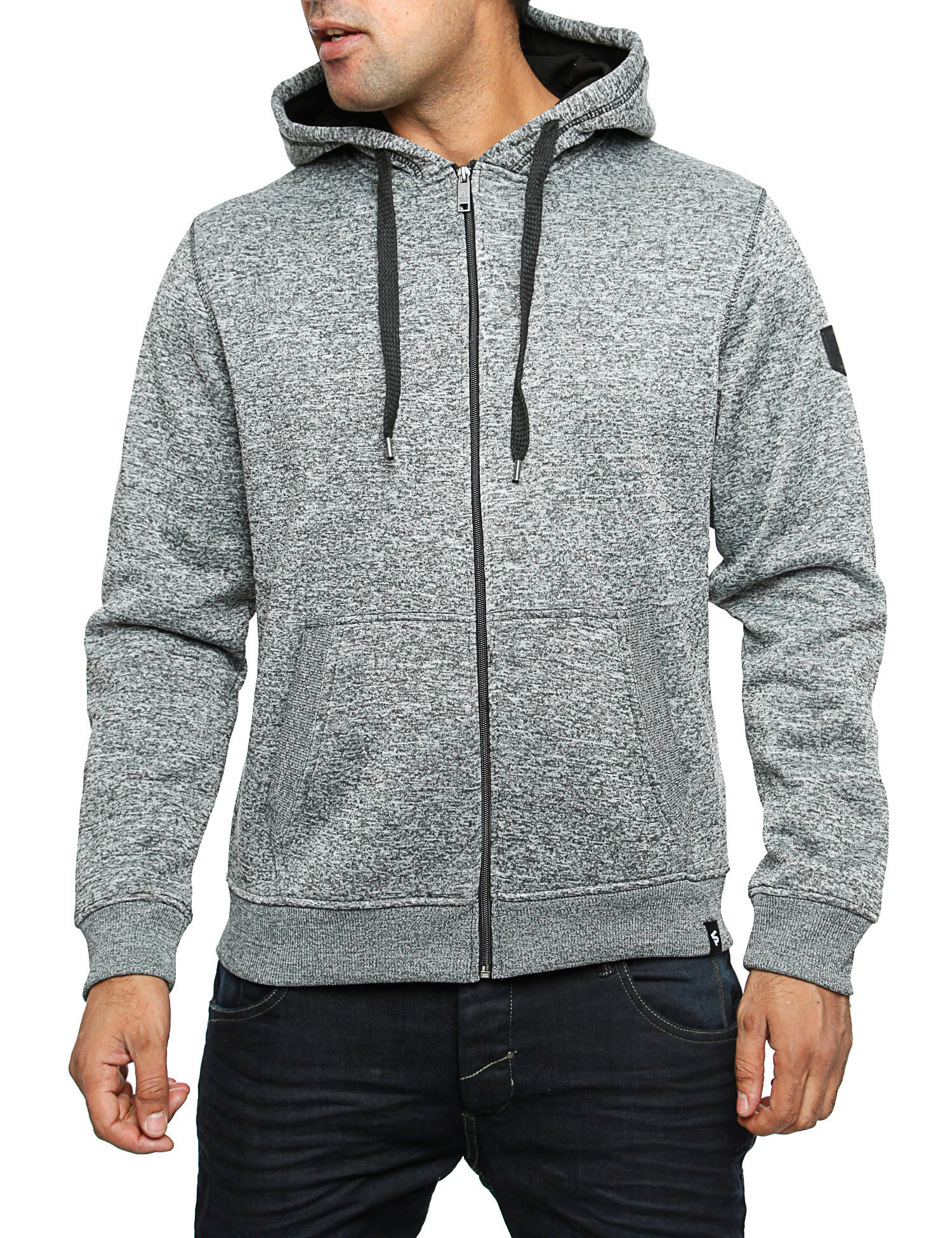 Southpole Zip Hoody 15321-1525 Marled Grey