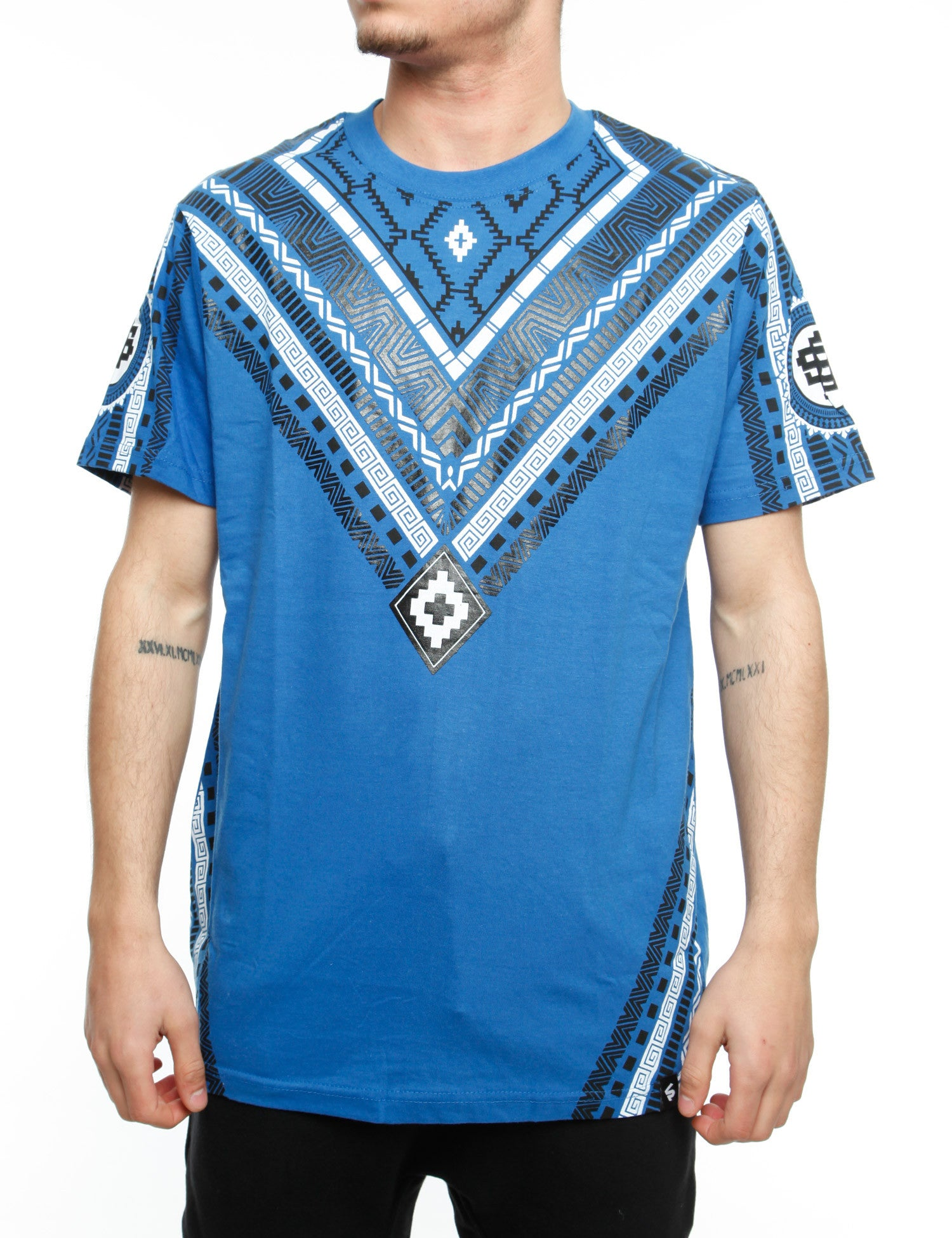 Southpole T-Shirt 15321-1026 Royal Blue
