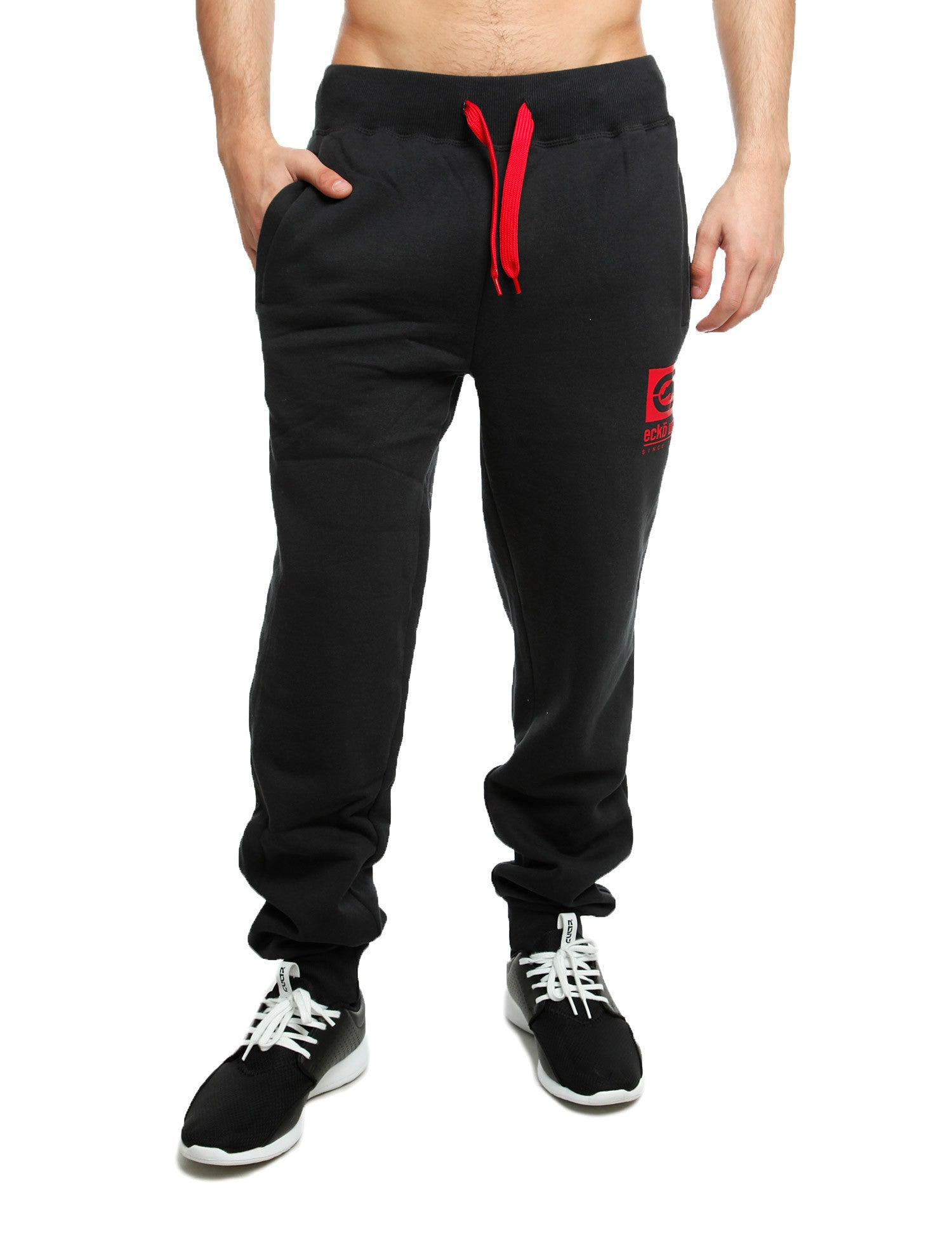 Image of Ecko Sweatpants Barking Black Grey