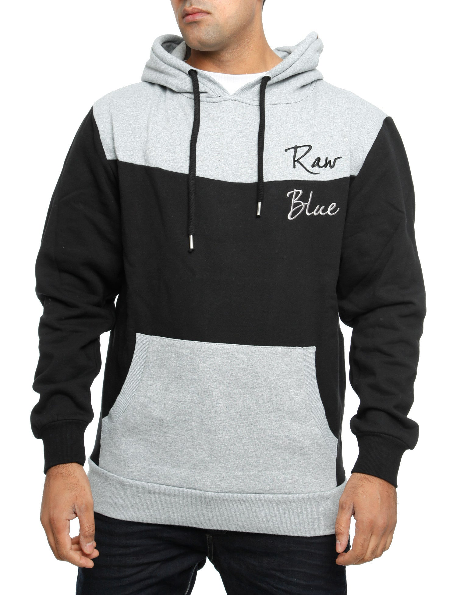 Raw Blue Hoody RBBH2001  Black