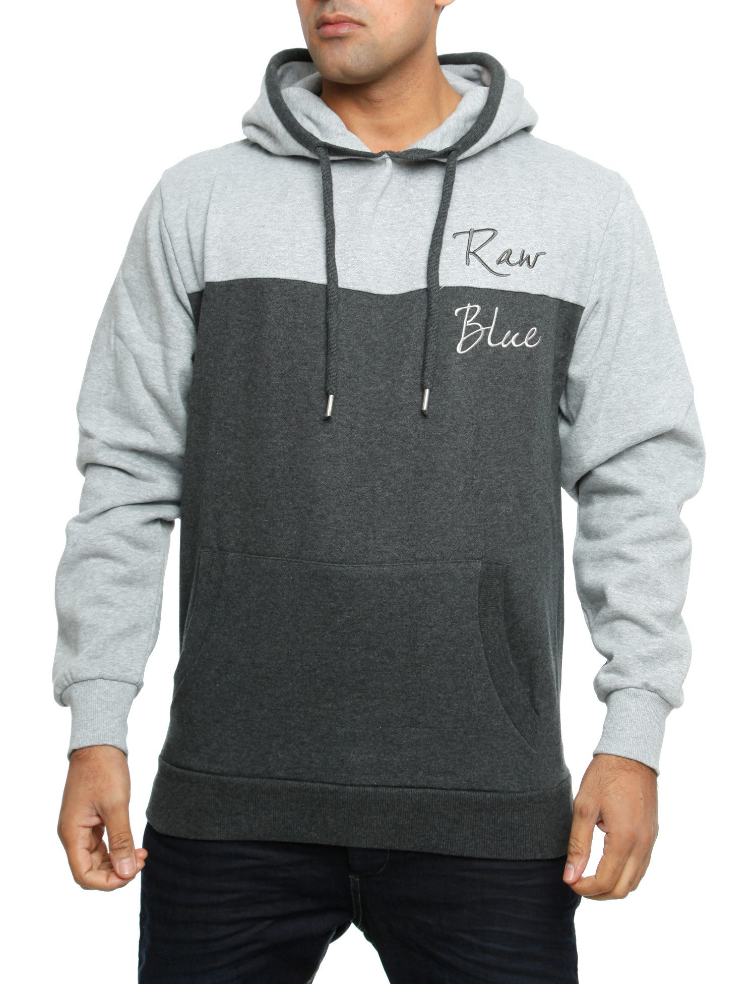 Raw Blue Hoody RBBH2006 D. Grey