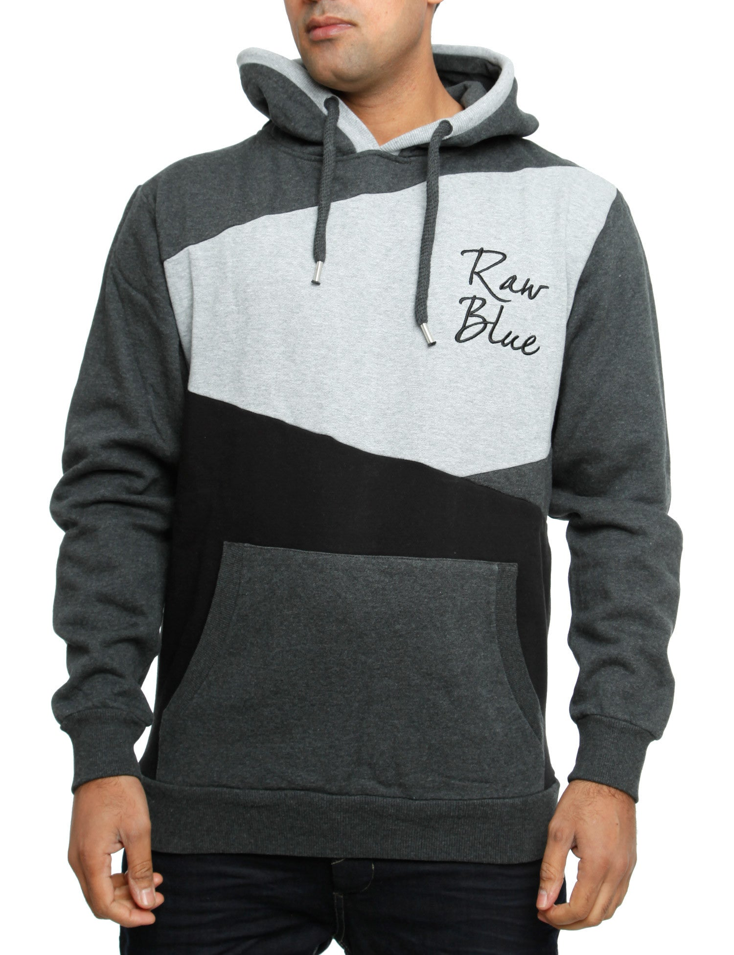 Raw Blue Hoody RBBH2007 D. Grey