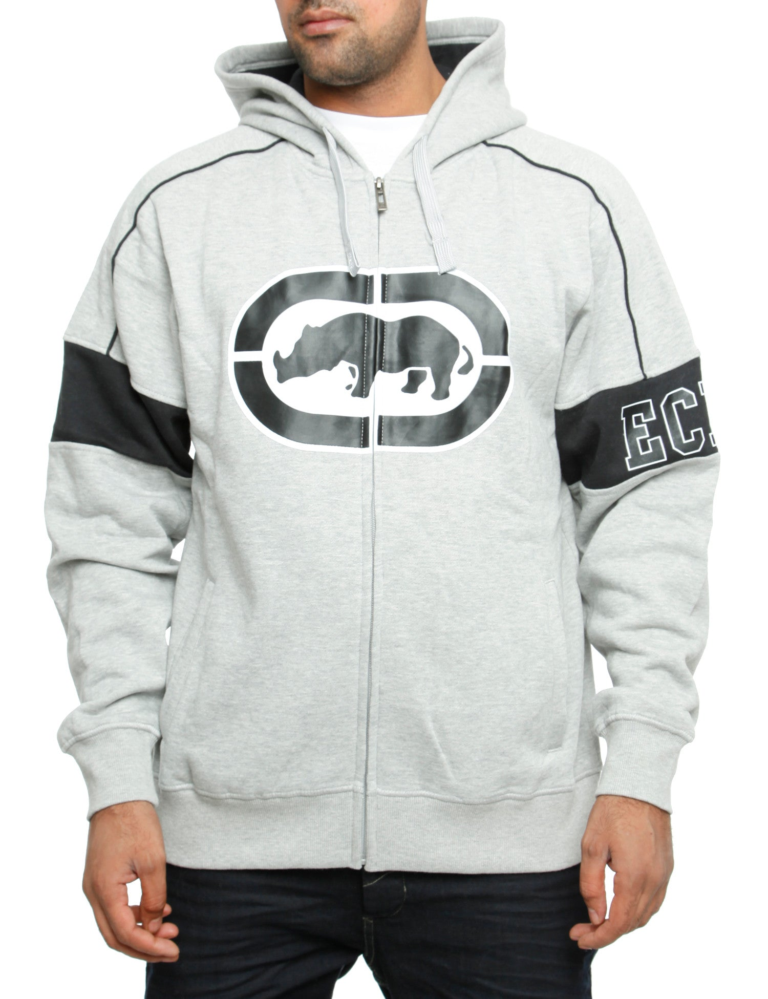 Image of Ecko Zip Hoody Docklands Grey
