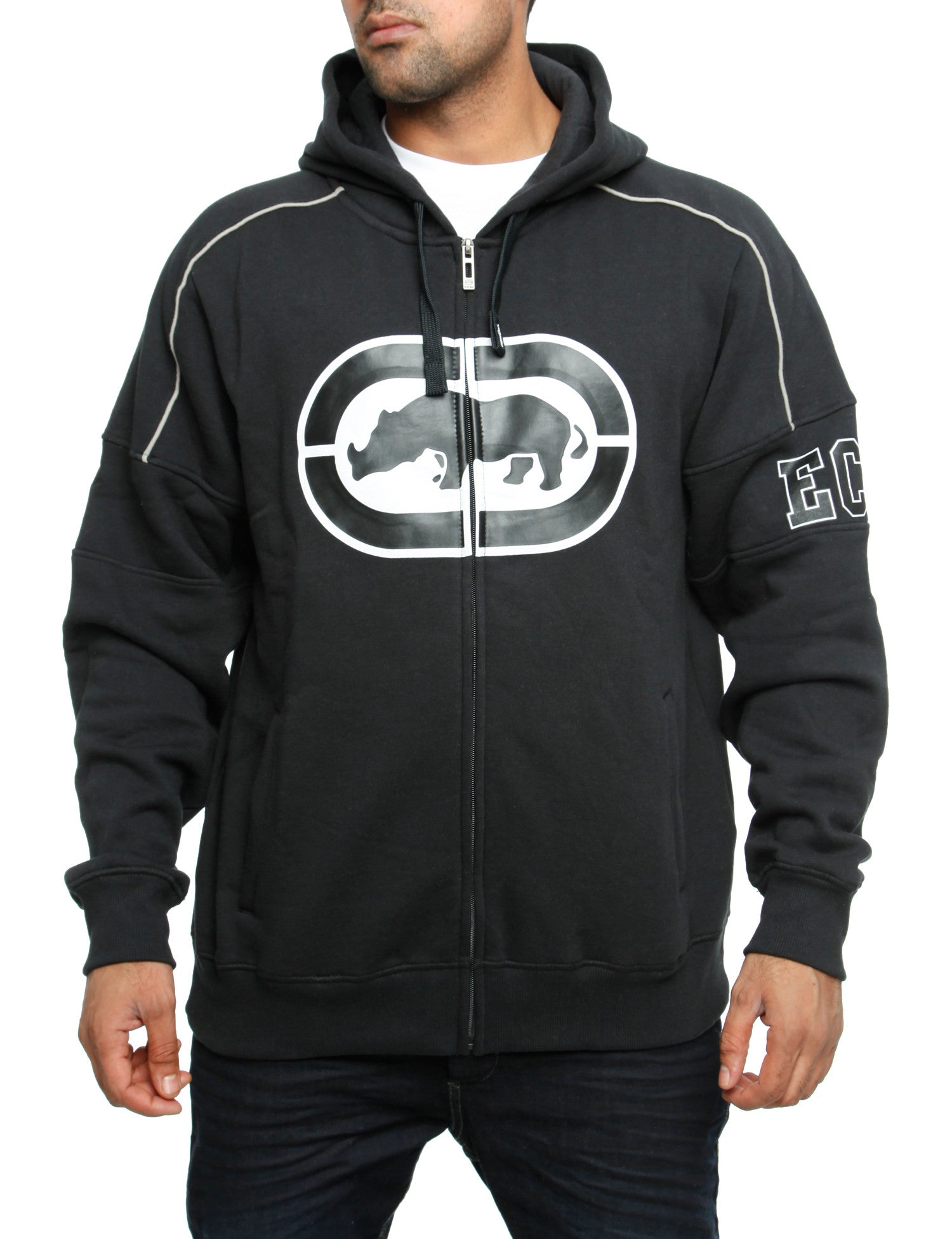 Image of Ecko Zip Hoody Docklands Black
