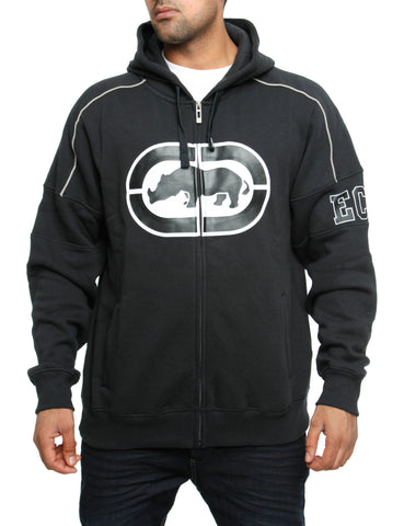 Ecko Zip Hoody Docklands Black