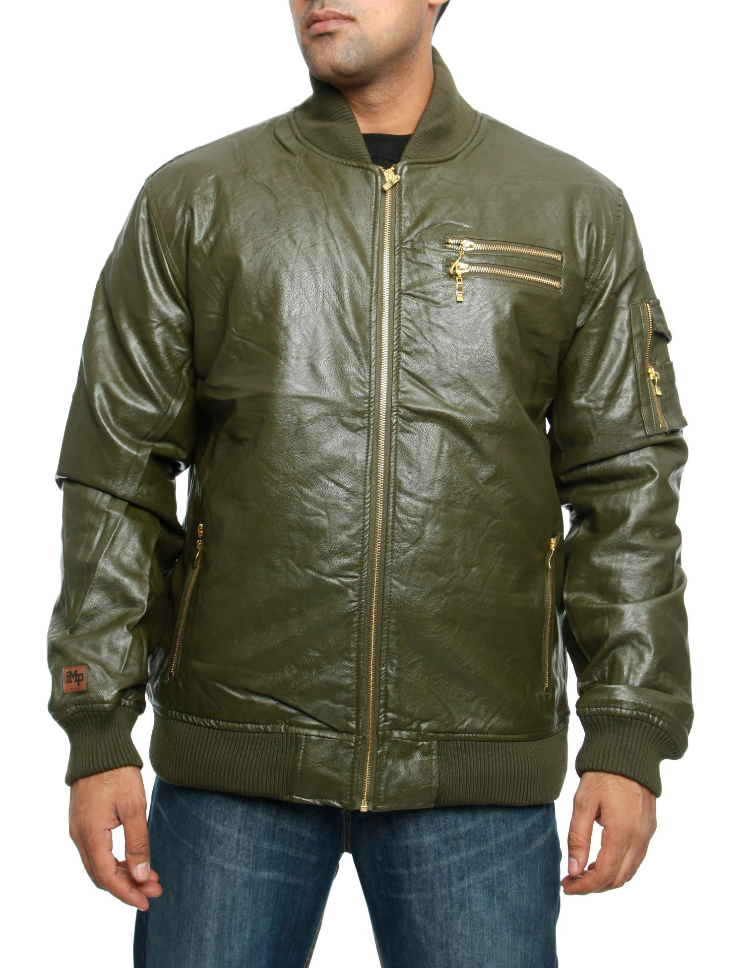 Imperious JK11 Padded Jacket Olive Green