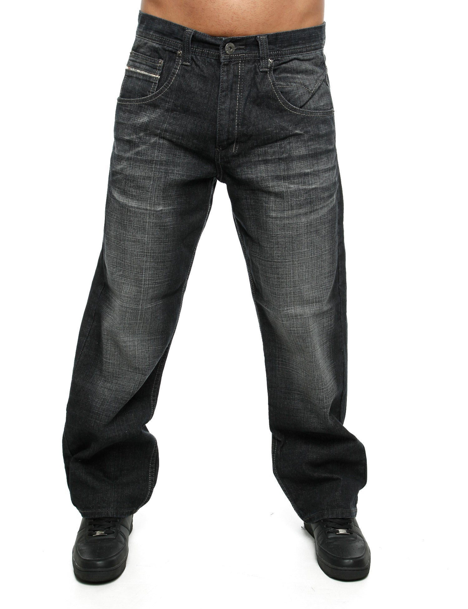 Royal Blue Jeans 8207 Black