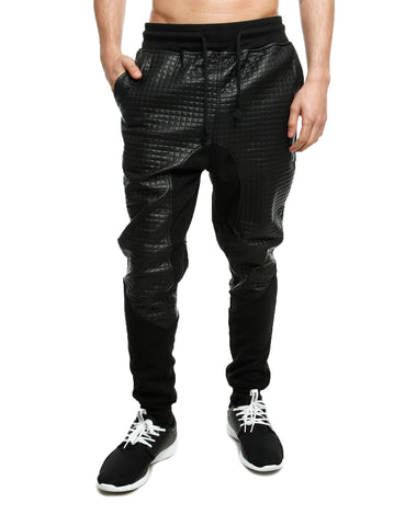 Imperious Quilted Sweatpant FP566 Black