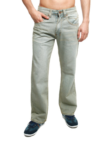 Royal Blue Basic Straight Denim 8208 Desert Blue