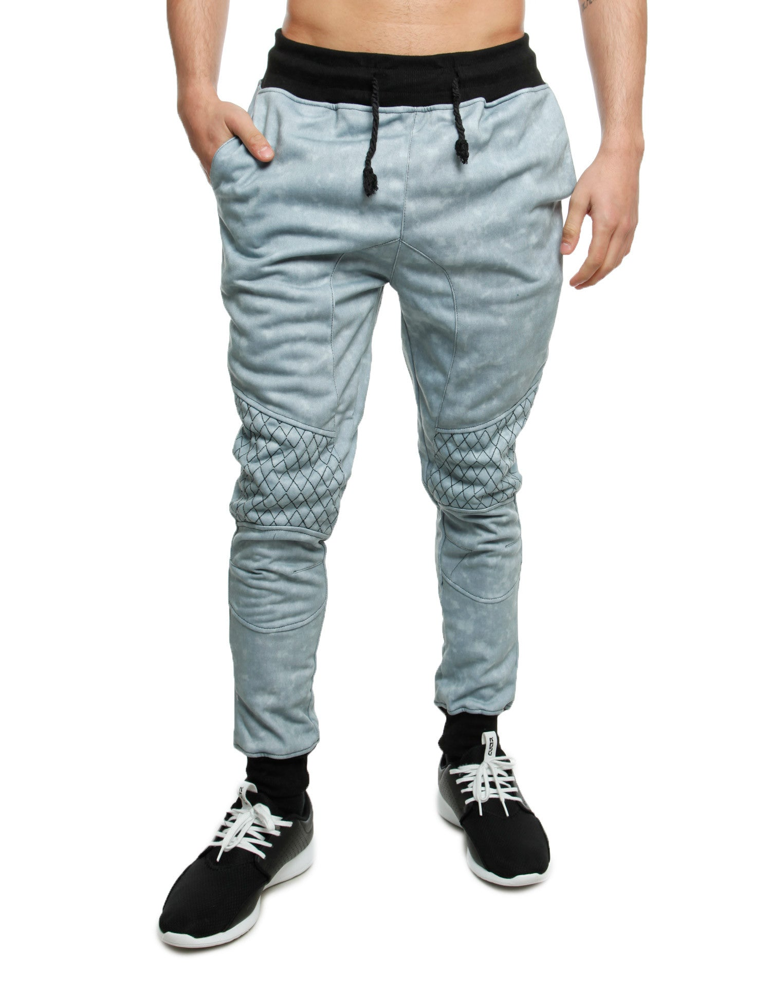 Imperious Denim Effect Sweatpant FP562 Grey