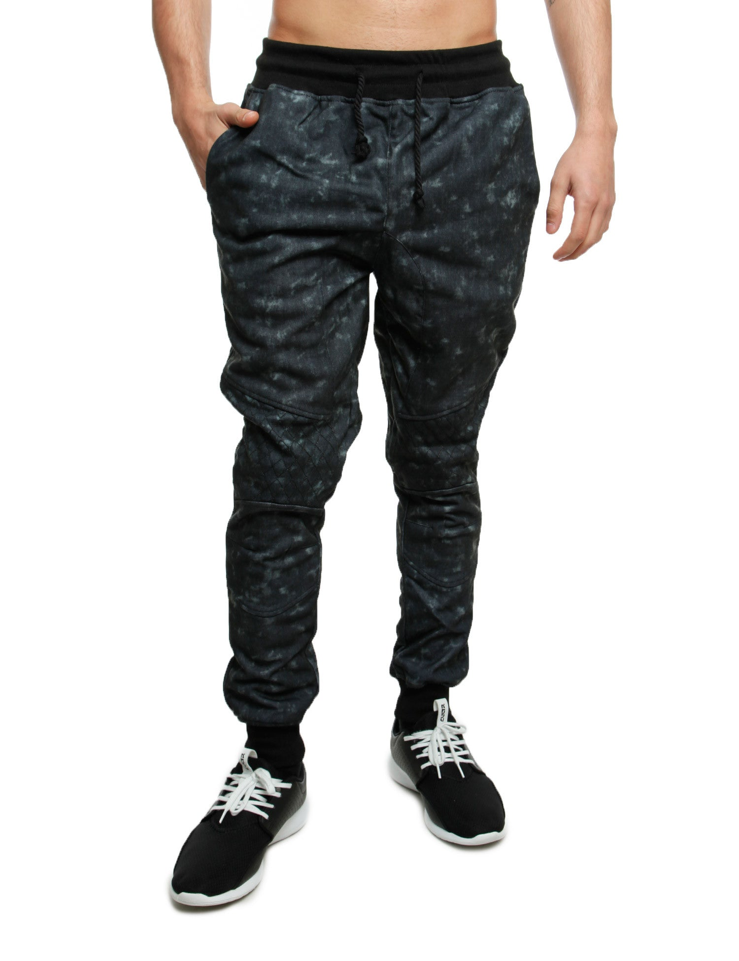 Imperious Denim Effect Sweatpant FP562 Black