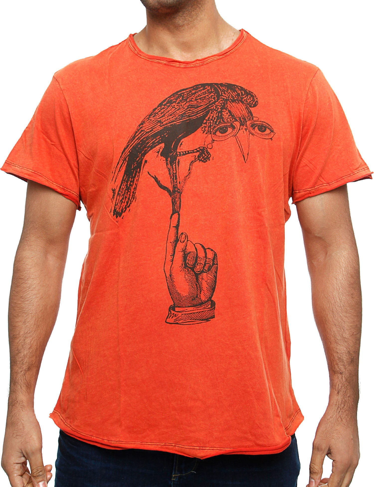Blend T-Shirt 702969 Rusty Red