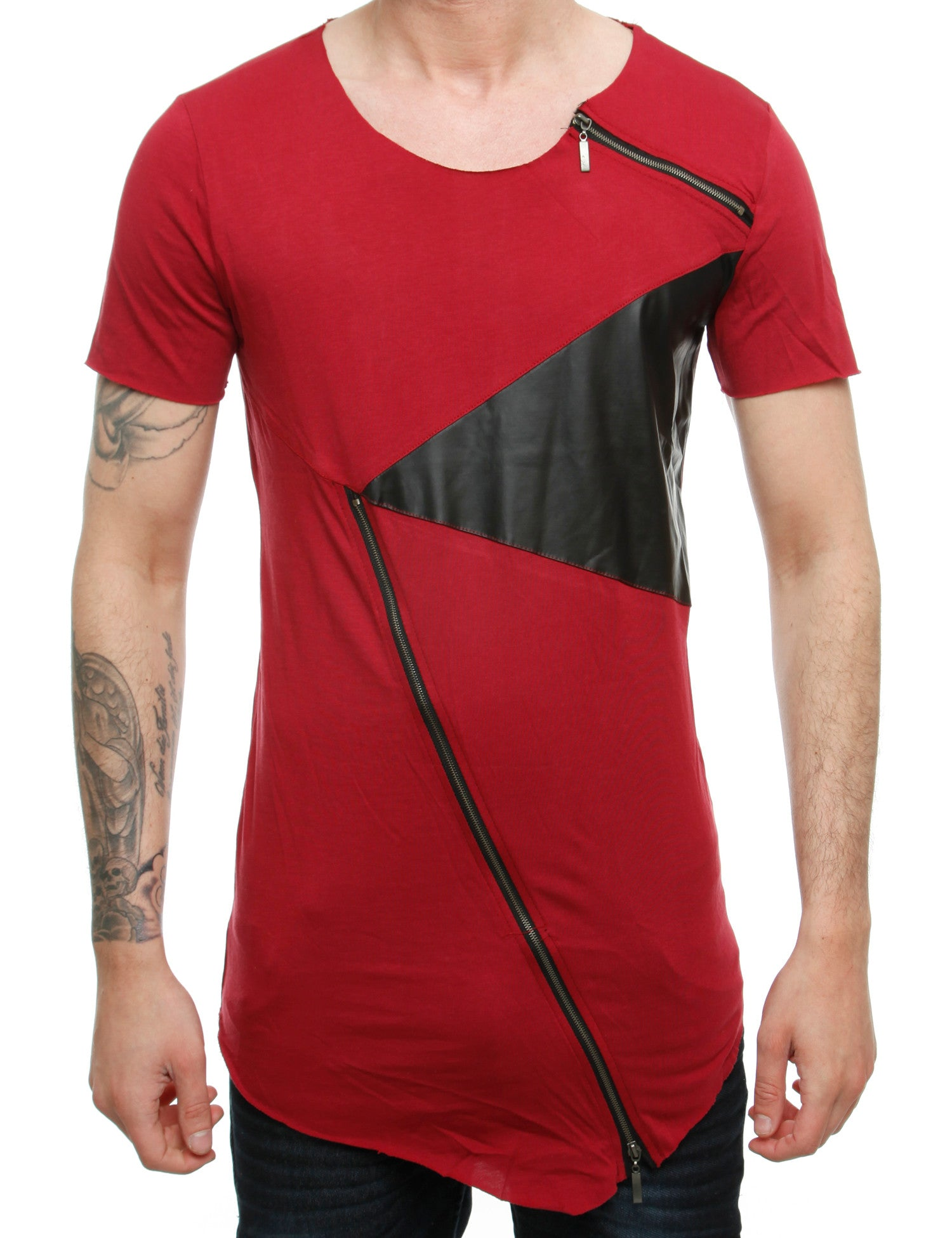 Amica T-Shirt P1173 Bordo Red